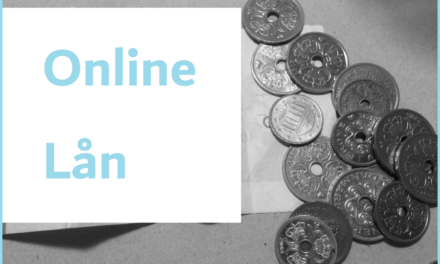 Find et lån online